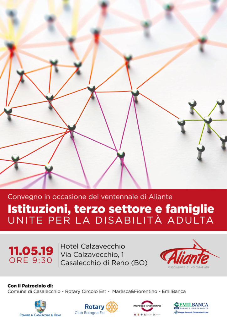 Convegno Istituzioni, terzo settore e famiglieunite per la disabilità adulta